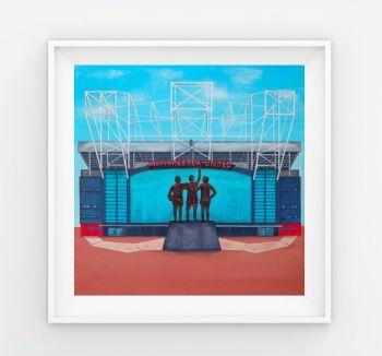 Jo Gough - MUFC Old Trafford Stadium (Plain) 30x30cm
