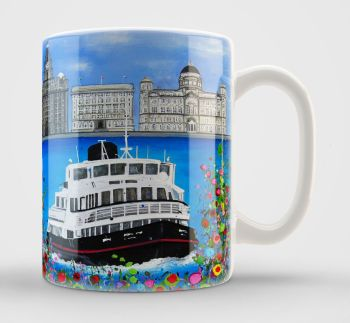 Jo Gough - The 3 Graces with flowers Mug