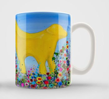 Jo Gough - Lambanana with flowers Mug