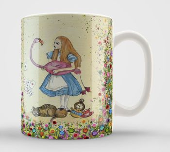 Jo Gough - Alice in Wonderland Mug