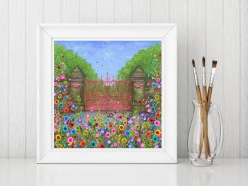 """Strawberry Field Gates Print"" From £10"
