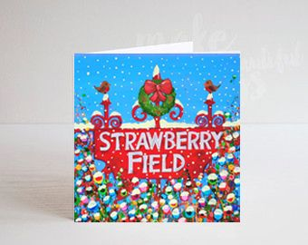 Jo Gough - Merry Christmas from Strawberry Field