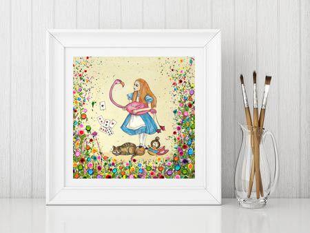 Jo Gough - Alice in Wonderland Print From £10