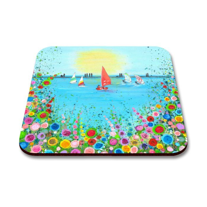 Jo Gough - West Kirby Boating Lake Coaster