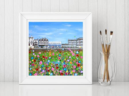 Jo Gough - The Parade Parkgate Print From £10