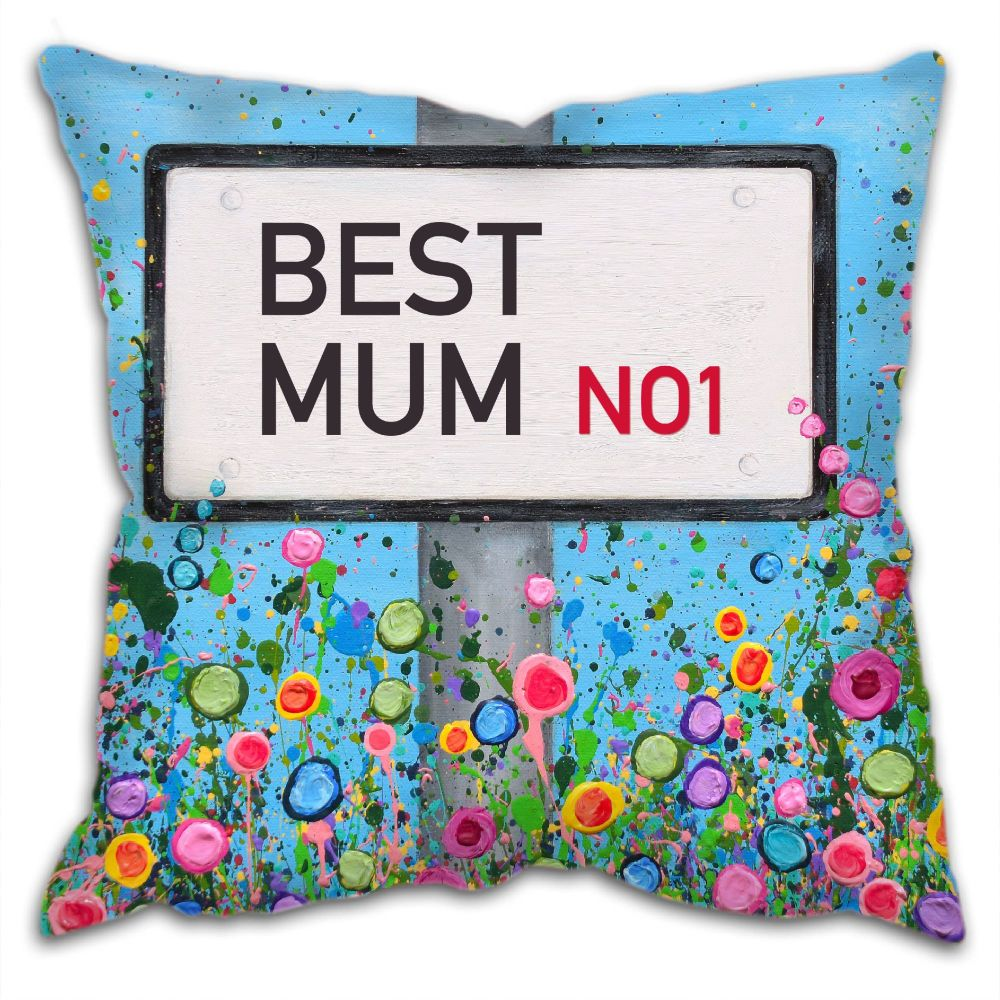 Jo Gough - Personalised Street Sign Cushion