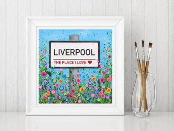 Jo Gough - Personalised Street Sign Print From £15