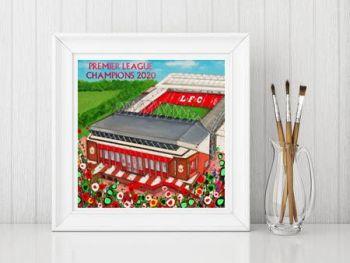 Jo Gough - LFC Stadium - Premier League Champions Print From £10