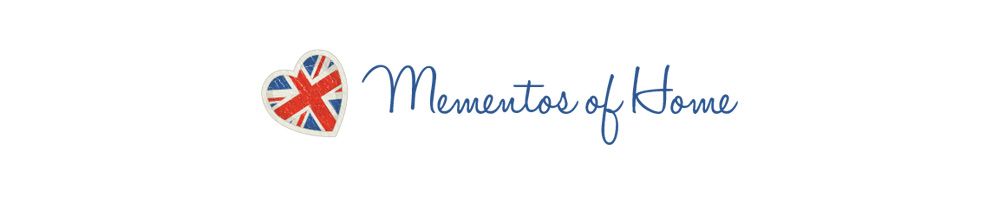 Mementos of Home, site logo.