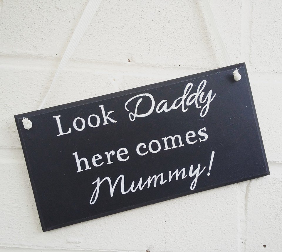 Wedding Decor handmade & painted sign/plaque