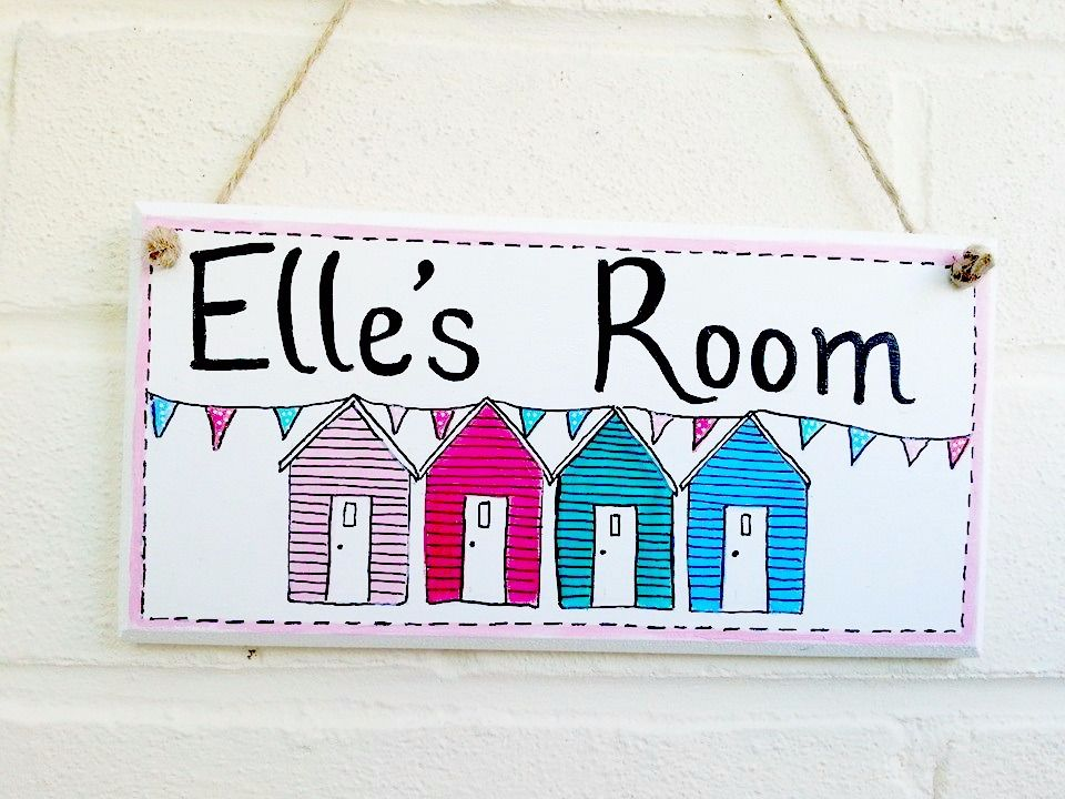 Personalised & illustrated door plaques/signs