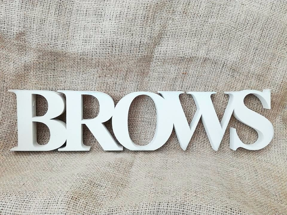 Freestanding wood name words sign any colour **price per letter **
