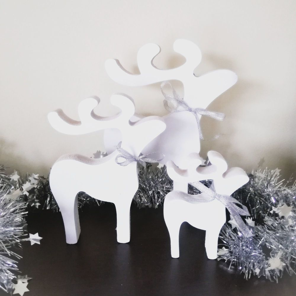 Christmas Reindeer, Christmas decorations, wood decorations, handmade decor