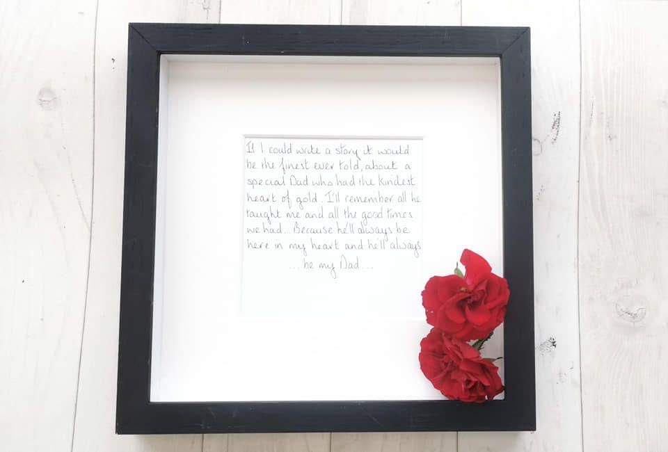 Funeral/Memorial Keepsake Gift
