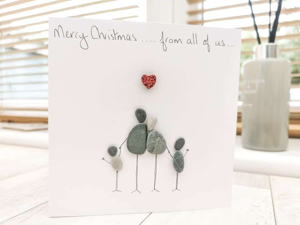 Family Personalised Christmas Card