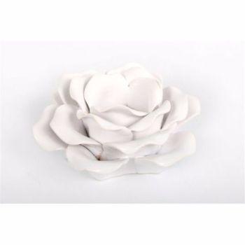 Porcelain Decorative Rose Tea Light Holder