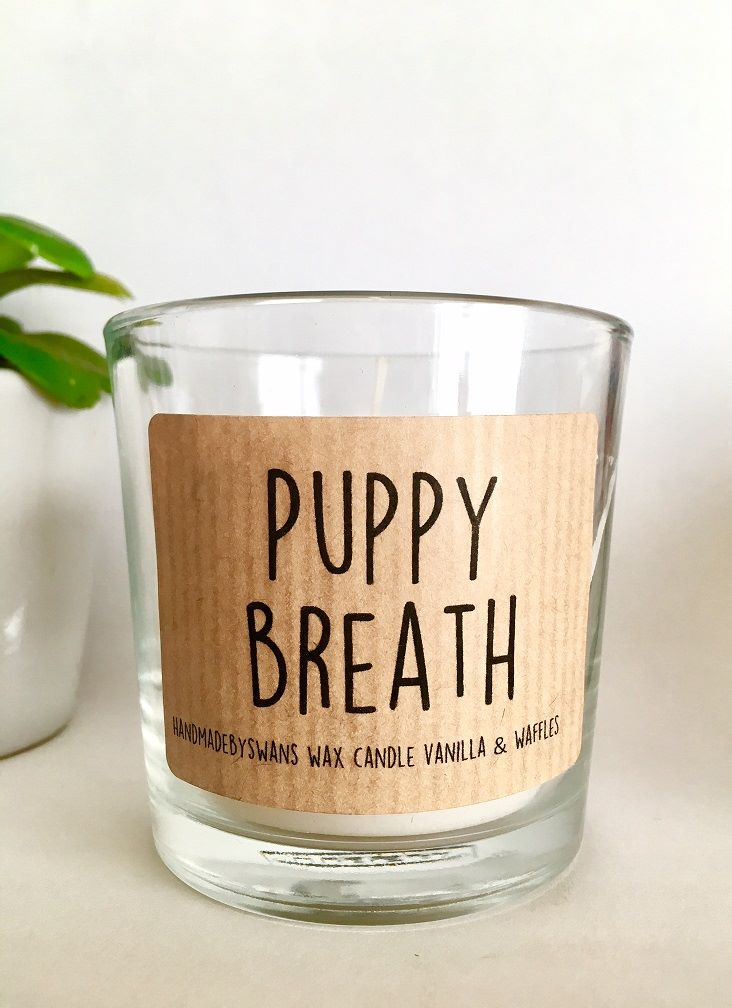 Puppy Breath - Vanilla and Waffles Wax Candle
