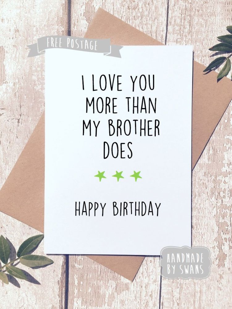 Funny Happy Birthday Greeting Card