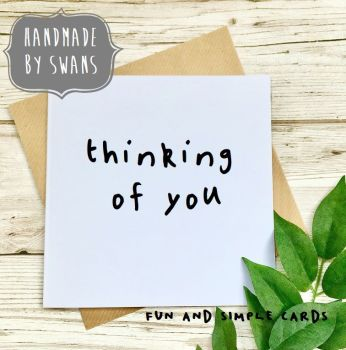 Thinking of you Square Greeting card