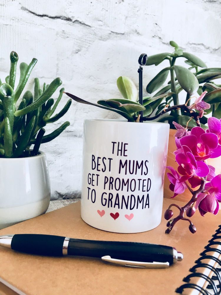 The Best Mums get promoted to... Plant Pot