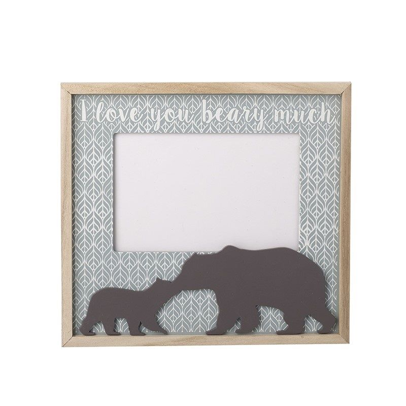 I love you beary much Photo Frame