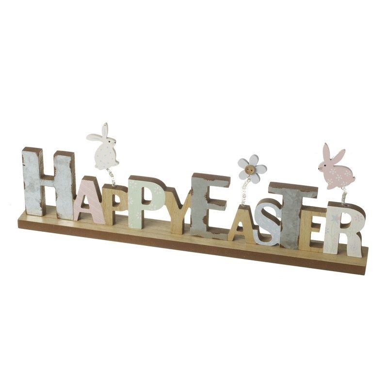 Happy Easter Wooden plaque