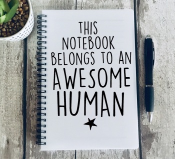 This notebook belongs to an awesome human Notebook