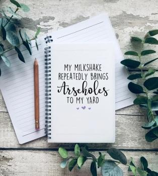 My Milkshake brings all the...A5 Notebook