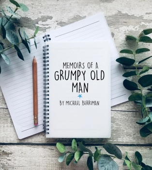 Memoirs of a Grumpy old man A5 Notebook