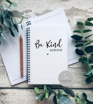 Be Kind A5 Notebook