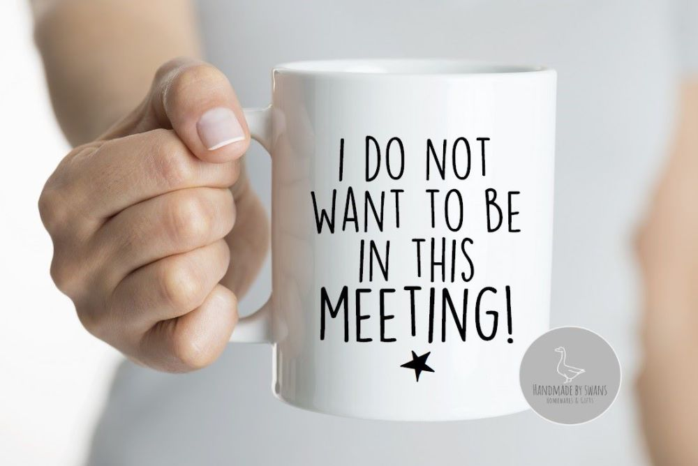 I do not want to be in this meeting Mug