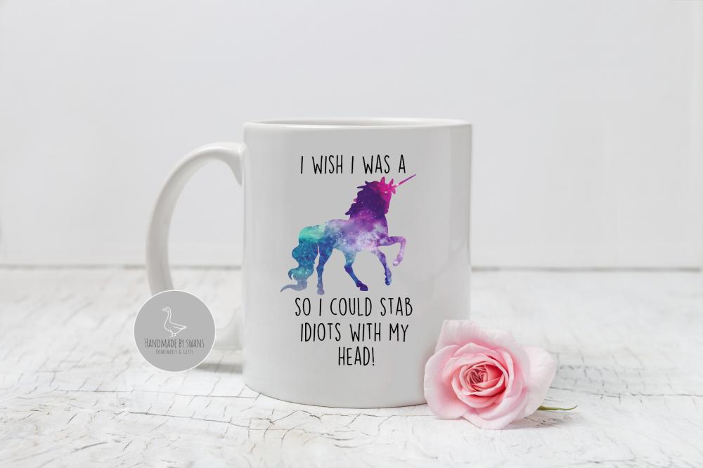 I wish i was a unicorn mug