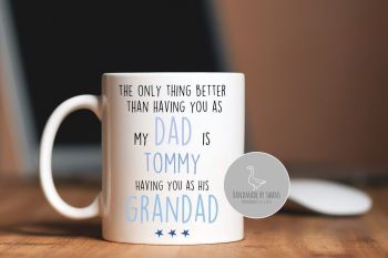 Personalised Dad Grandad mug