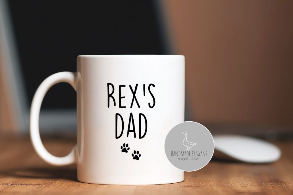 Personalised Dog Dad mug