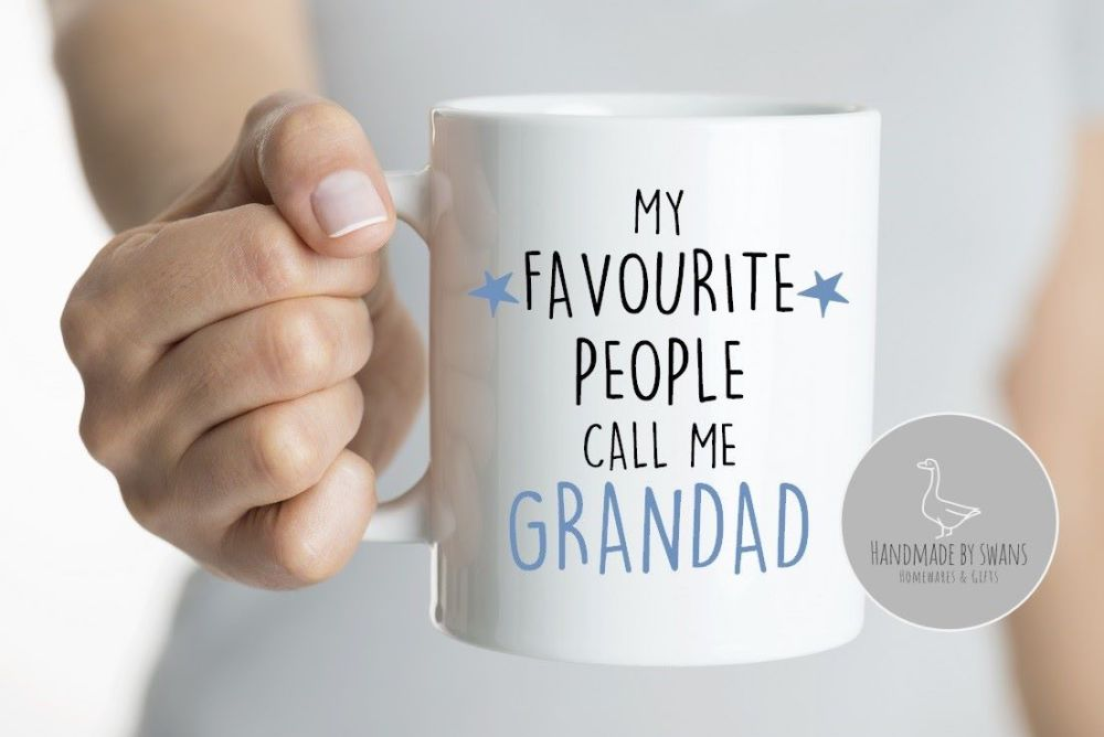 My favourite people call me Grandad mug