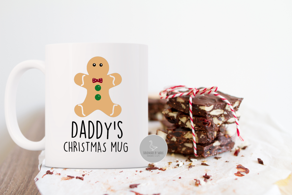 Personalised Gingy Christmas mug