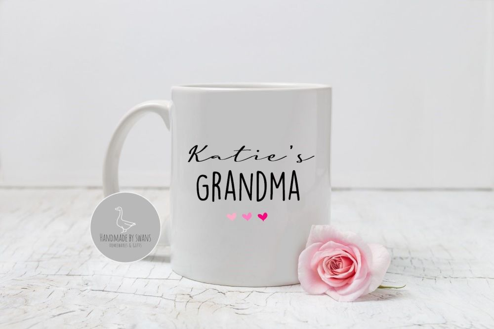 Personalised Grandma/ Nanna  mug