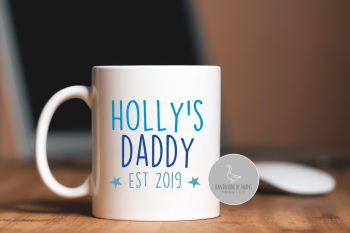 Personalised Dad Est mug