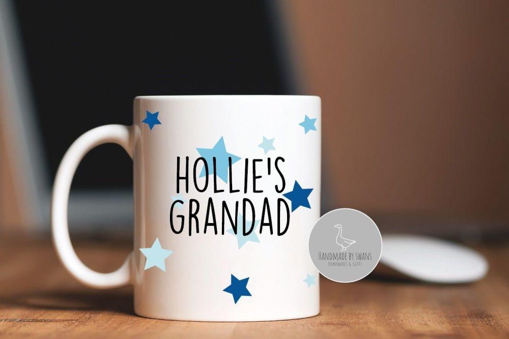 Personalised Grandad mug