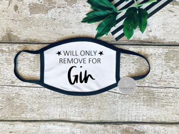 Will only remove for Gin face mask