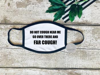 Far cough face mask