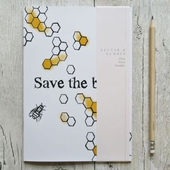 Notebook - Save the Bees