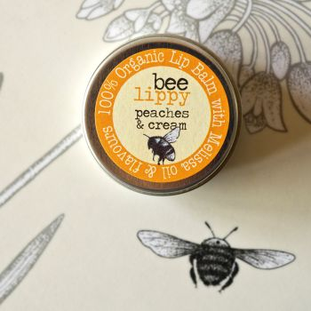 Bee Lippy Peaches & Cream Lip Balm