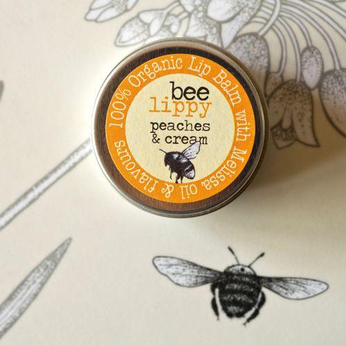 Bee Lippy Peaches & Cream Lip Balm
