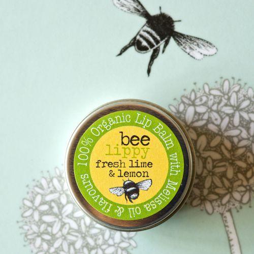 Bee Lippy Lime & Lemon Lip Balm