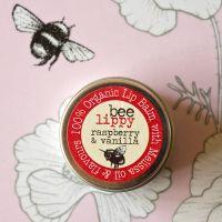 Bee Lippy Raspberry & Vanilla Lip Balm