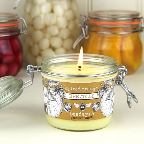 Bee Jolly Spiced Orange Candle