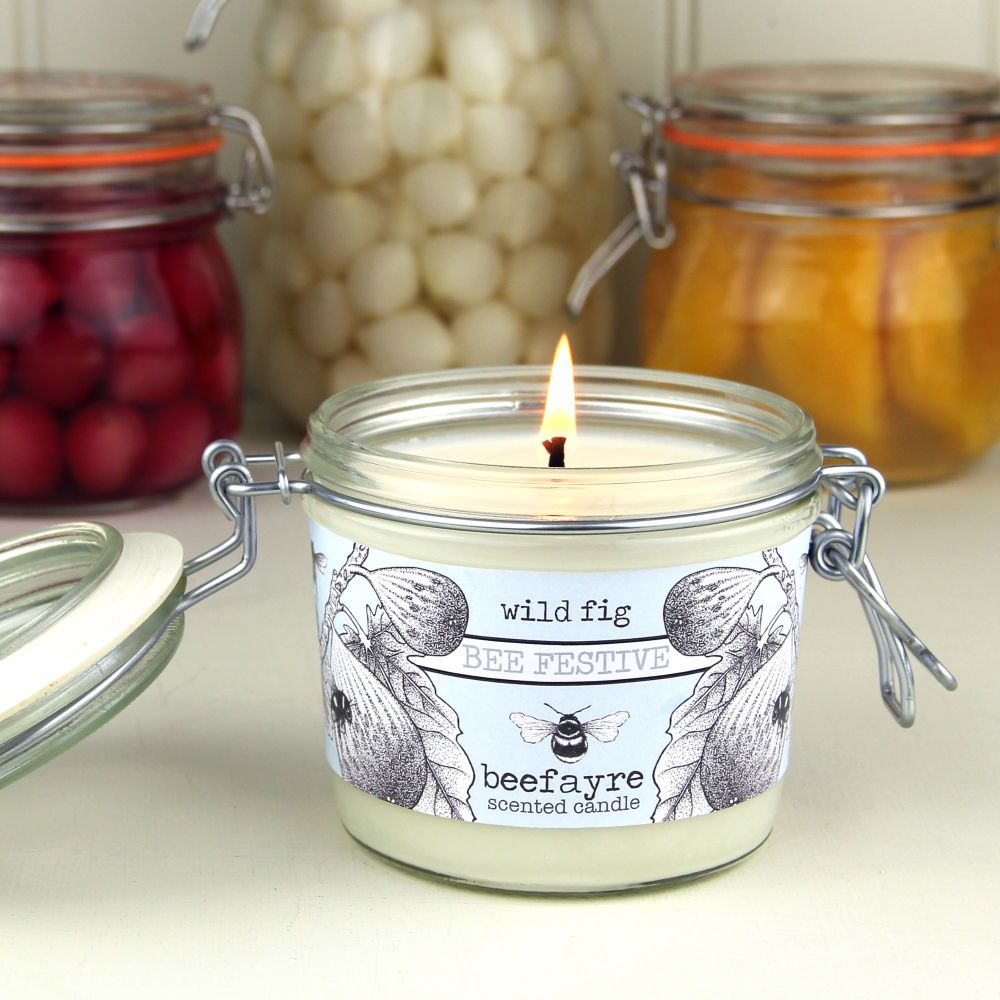 Bee Festive Wild Fig Candle