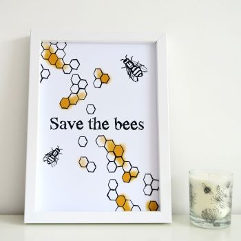 Print - Save the Bees