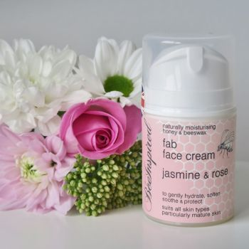 Bee Inspired Face Cream - Jasmine & Rose